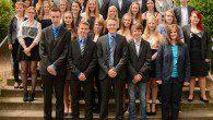100 Schülerinnen und Schüler haben die St.-Ursula-Realschule mit dem Abschluss nach Klasse 10 verlassen.