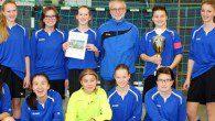 Mit zwei starken Auftritten holten die Fußball-Mädchen bei den Stadtmeisterschaften den Titel.