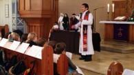 In der Erlöserkirche feierten die Jahrgänge 5 und 6 einen gemeinsamen Gottesdienst.