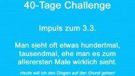 Der Impuls zum Tag mit Gewinnbuchstaben für die 40-Tage-Challenge.