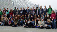 Der Französischkurs war vergangene Woche in der Hauptstadt Frankreichs.