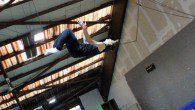 Im Move Artistic Dome in Köln konnten die Parkour-Sportler sich richtig austoben.