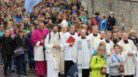 Am Wandertag reiste der Jahrgang 6 wie alle Schulen des Erzbistums nach Paderborn.