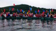 Ein besonderes Kanu-Abenteuer erlebte die 7b auf dem Biggesee.