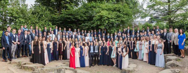 Die Rekordzahl von 131 Schülern machten 2017 ihren Abschluss.