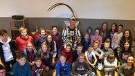 Karnevalsprinz Christian Middel, der Bürgermeister und andere Vorleser sorgten für einen besonderen Tag.