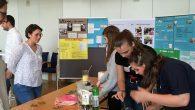 Im Kreishaus Olpe stellte der 9er NW-Kurs seine Projekte aus.