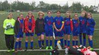 Mit dem vierten Platz kehrten die Fußball-Mädchen vom Bezirksfinale zurück.