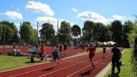Einige Bilder vom Sportfest der Jahrgänge 5-8 bei perfektem Wetter auf dem Sportplatz.