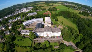 St. Ursula Schulen Attendorn - Luftbild